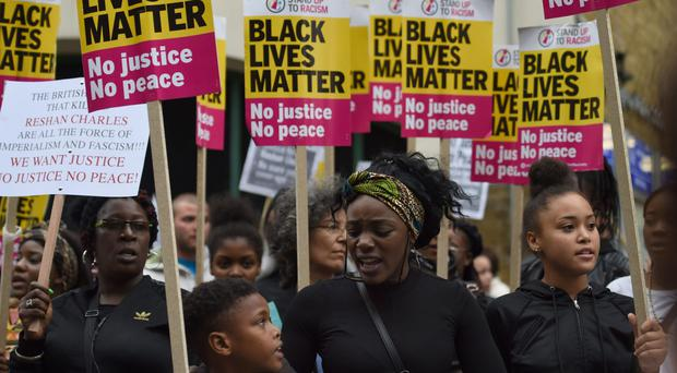 The death of Rashan Charles sparked demonstrations and violent street protests ( Lauren Hurley/PA)