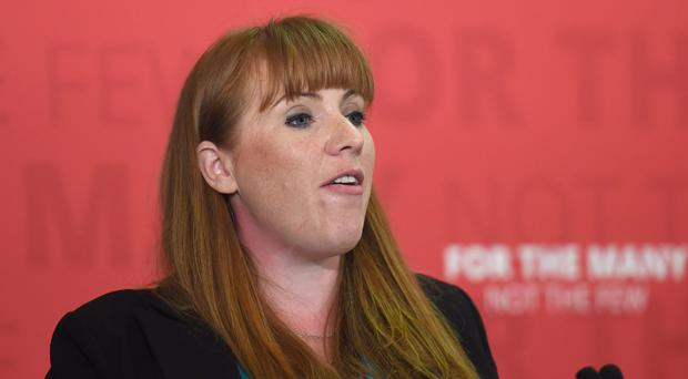 Shadow education secretary Angela Rayner said said MPs had effectively voted unanimously to revoke the regulations (Lauren Hurley/PA)