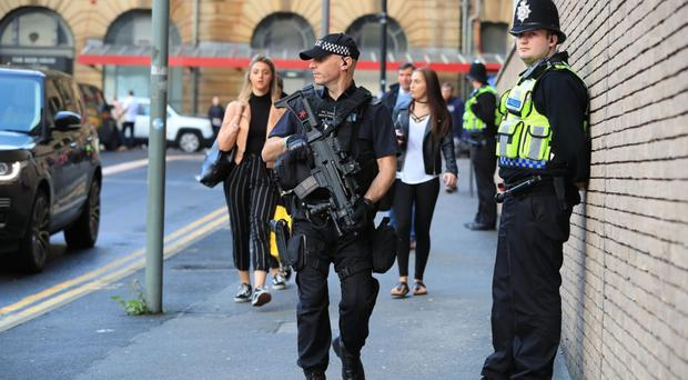 Record number of terrorism arrests made in United Kingdom  in past year