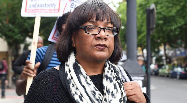 Diane Abbott uses n-word in describing vitriol she has received online (Lauren Hurley/PA
