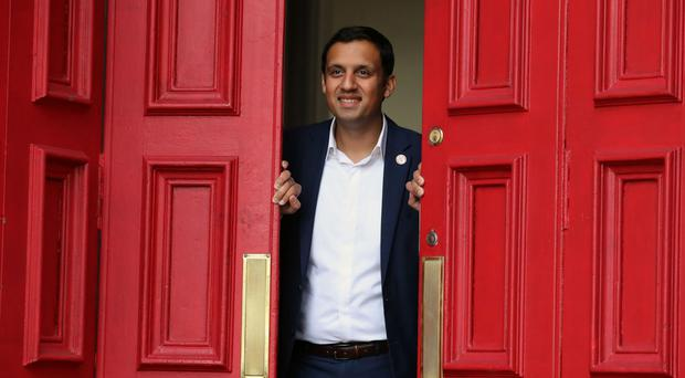 Anas Sarwar at his campaign headquarters in Glasgow ahead of his launch campaign to be the next Scottish Labour leader (Andrew Milligan/PA) Picture by: