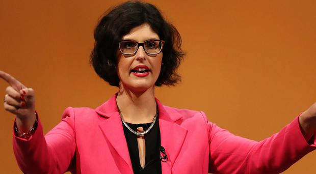 Layla Moran addresses the Lib Dem conference in Bournemouth (Andrew Matthews/PA)