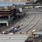 The suspect was arrested in the port area of Dover (Gareth Fuller/PA)