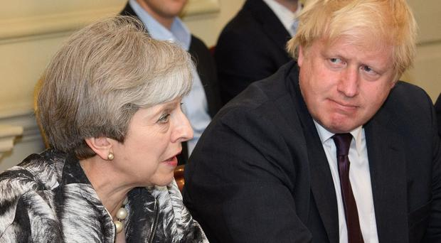 Boris Johnson is preparing for crunch talks with Theresa May (Leon Neal/PA)