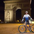 Ultra-endurance cyclist Mark Beaumont is set to reclaim the world record for circumnavigating the globe one day ahead of schedule (PA)