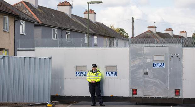 Police are still searching the house in Sunbury-on-Thames where the 18-year-old man lived (Dominic Lipinski/PA)