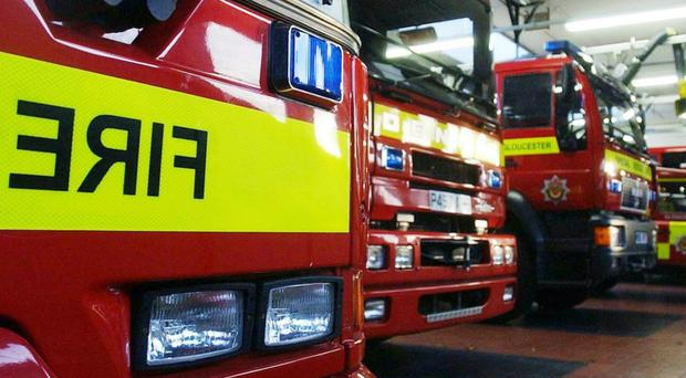 Twenty fire engines attended (Barry Batchelor/PA )