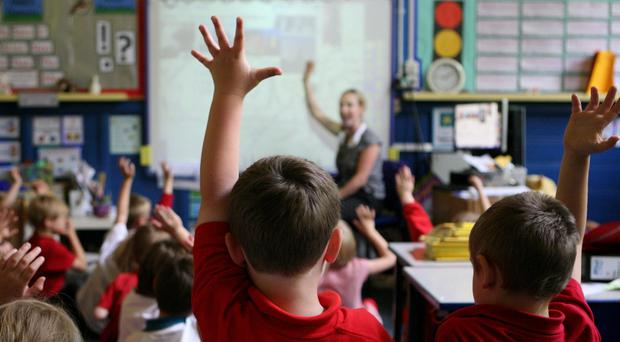 A study warned science is not given enough priority in most primary schools (Dave Thompson/PA)