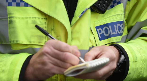 Police forces in England and Wales logged 34,103 complaints in 2016/17 (Joe Giddens/PA)
