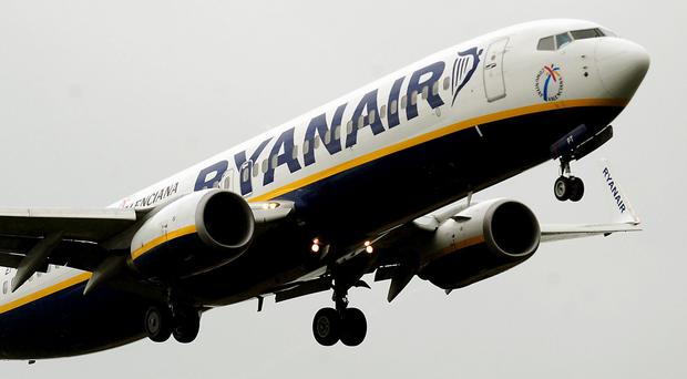 Ryanair is shelving up to 50 flights daily over the next six weeks (Rui Vieira/PA)
