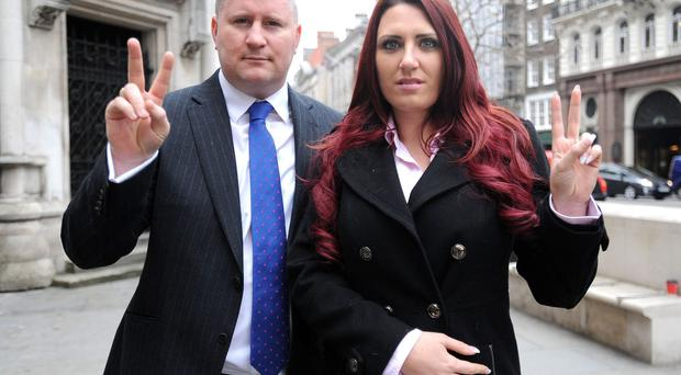 Britain First leader and deputy charged with religiously aggravated harassment