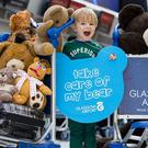 Glasgow Airport's appeal to reunite young passengers with their teddies (Glasgow Airport/PA)