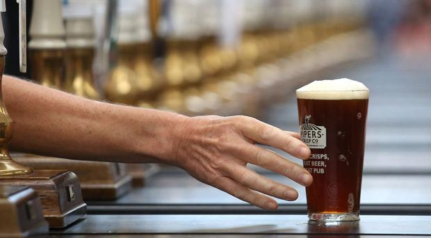 Beer prices are at a record high (Philip Toscano/PA)