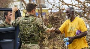 UK aid teams have arrived in Hurricane Maria-hit Dominica (LPhot Joel Rouse/MoD Crown Copyright/PA)