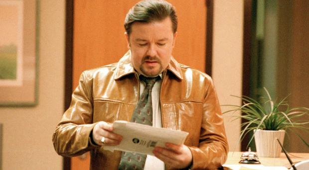 Slough was immortalised by Ricky Gervais, who played David Brent, in the TV series The Office (BBC/PA)