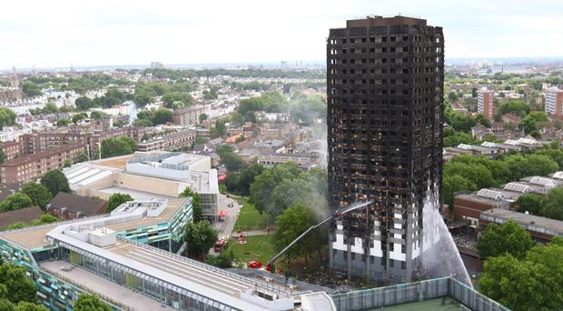 Grenfell Tower in west London (Rick Findler/PA)