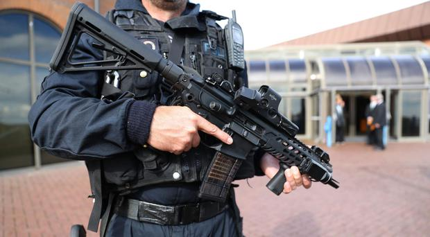 Support for a fully armed police service among the rank-and-file has jumped as forces confront an unprecedented terrorist threat, according to a major staff survey (Andrew Matthews/PA)