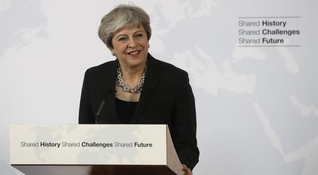 Theresa May Speech Eu And Uk To Protect Belfast Agreement And