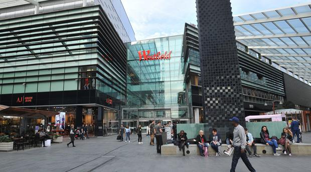 Six people have been reported injured in a suspected noxious substance attack at the Westfield shopping centre in Stratford, east London (Nick Ansell/PA)