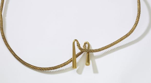 The Bronze Age torc (British Museum/PA)