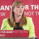 Shadow education secretary Angela Rayner (Danny Lawson/PA)