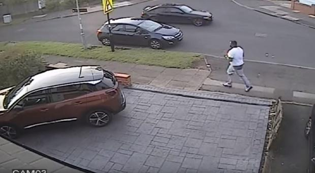CCTV has been released in a fresh bid to trace a man believed to be involved in a hit-and-run which left a mother and newborn baby in hospital (West Midlands Police/PA)