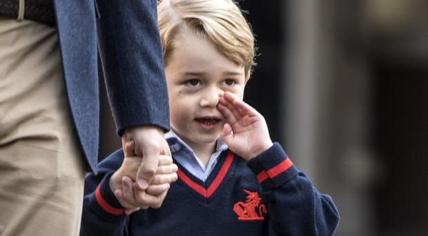 Prince George. (Richard Pohle/The Times/PA)