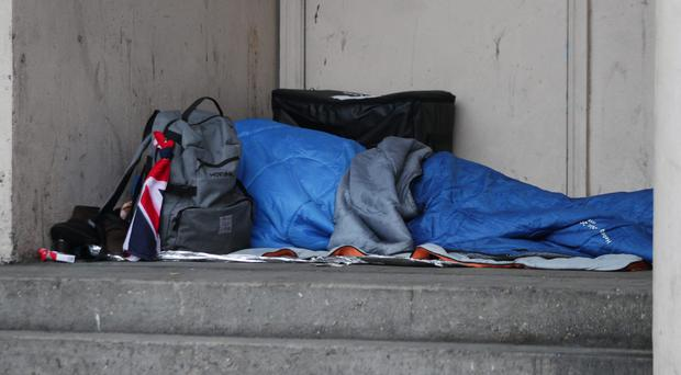 Thirteen times more people are homeless but hidden than are visibly sleeping rough, a report claims (Yui Mok/PA)
