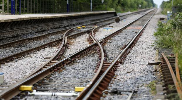 The 14-year-old was killed crossing rail tracks (Lynne Cameron/PA)