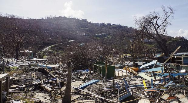 Hurricane Irma unleashed devastation on the British Virgin Islands, Turks and Caicos and Anguilla (Dan Lauder/AP)