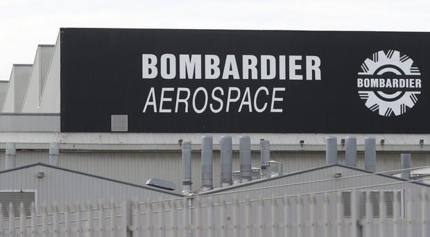 Jobs at Bombardier are under threat (Niall Carson/PA)