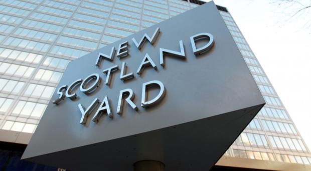 The woman was arrested by officers from Scotland Yard's counter-terrorism command (Sean Dempsey/PA)