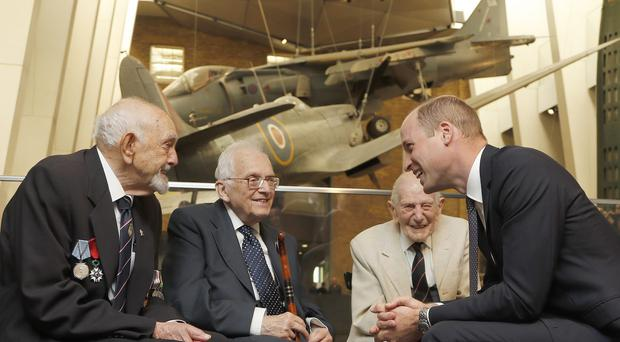 The Duke of Cambridge has told a Holocaust survivor that his recent trip to a concentration camp was an eye-opening and sobering experience (Frank Augstein/PA)