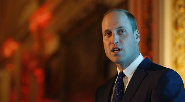 The Duke of Cambridge has told business leaders to