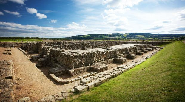 The Roman town site, just outside current-day Corbridge, is a protected Scheduled Monument (Historic England/PA)