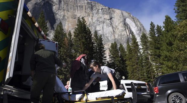 Welsh climber killed in rock fall at Yosemite named (Eric Paul Zamora/AP)