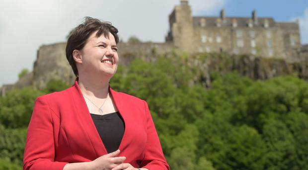 The revival of the Scottish Tories under Ms Davidson's leadership has made her a popular figure (Lesley Martin/PA)