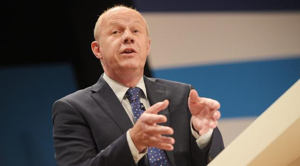 First Secretary of State Damian Green says Labour are the nasty party (Ben Birchall/PA)
