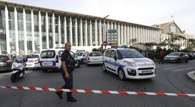 Britons have been urged to take care in Marseille after two women were killed at train station (Claude Paris/AP)