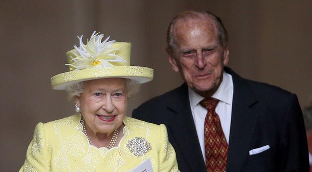 The Queen and Philip got married in front of 2,000 guests on November 20 1947 (Steve Parsons/PA)