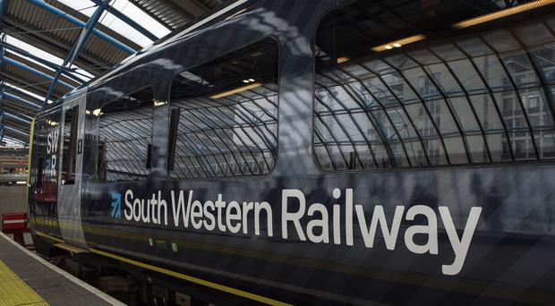 South Western Railway services were severely disrupted (Victoria Jones/PA)