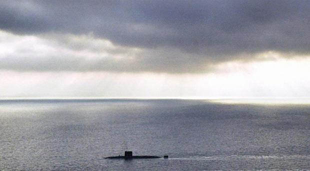The Royal Navy has launched an investigation into events on board a nuclear submarine (Owen Humphreys/PA)