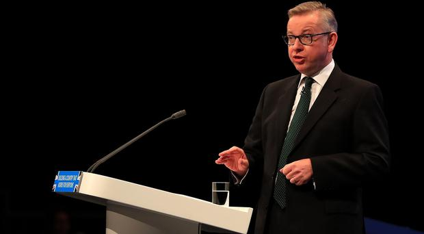 Environment secretary Michael Gove has unveiled plans for a deposit return scheme for drinks bottles in an attempt to boost recycling (Peter Byrne/PA)