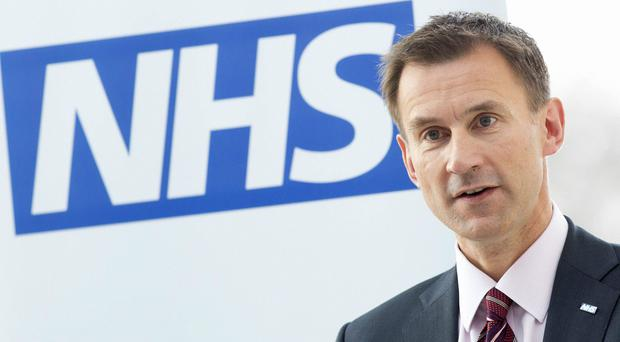 Health Secretary Jeremy Hunt. (Neil Hall/PA)