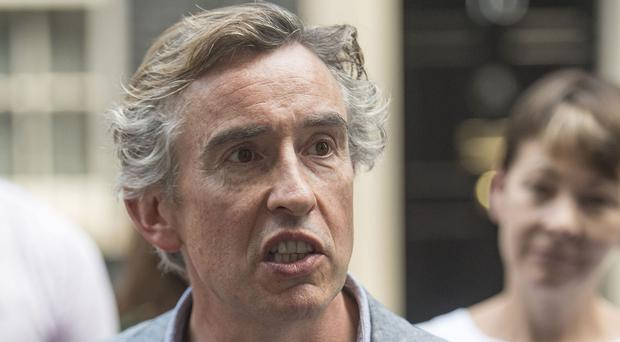 Steve Coogan confirmed the damages awarded to him was a six-figure sum (Victoria Jones/PA)