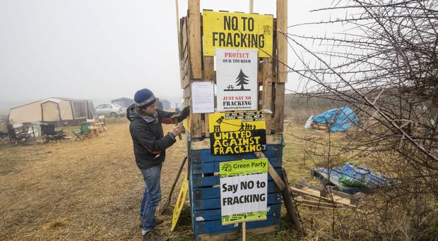 The Scottish Government has announced a ban on fracking (Danny Lawson/PA)