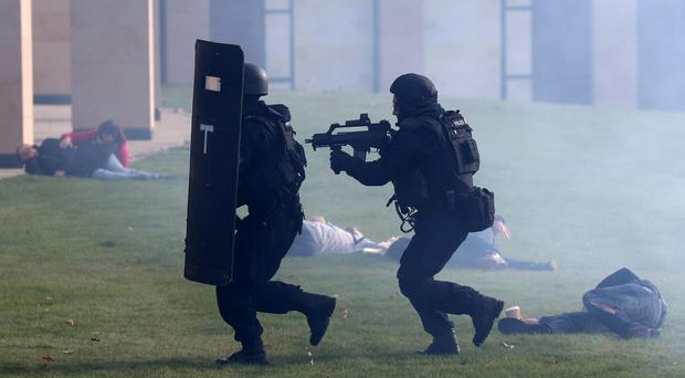 A three-day counter-terrorism exercise testing the response of emergency services in England and Scotland to a cross-border incident has begun (Andrew Milligan/PA)