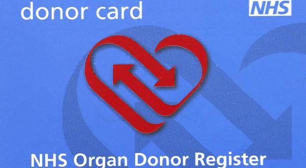Those wishing to donate their organs currently have to opt in (PA)