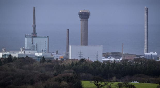 The Sellafield nuclear power plant in Cumbria (Peter Byrne/PA)