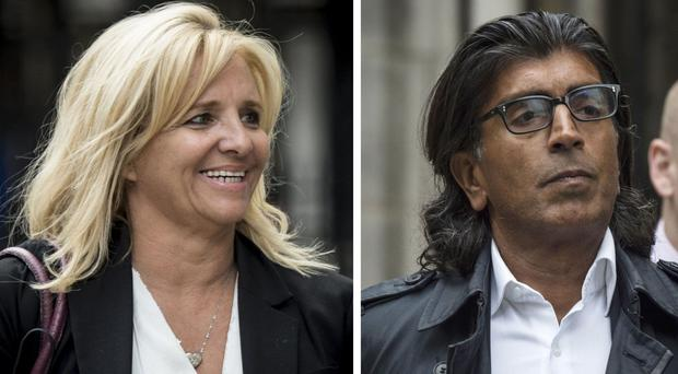 Wealthy businessman Asif Aziz told the High Court that his wife Tagilde is not entitled to any of his fortune because they are not legally married (Lauren Hurley/PA)